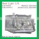 Hiace 2010-2011 Manually Automatically Head Light #000700 headlamp for hiace toyota headlights
