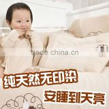 Colored cotton pillow case Children care health pillow Baby new style natural colored cotton carton pillow