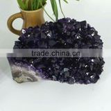 Beautiful decoration amethyst cryster cluster