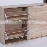2016 factory made good wooden home furniture shoe cabinet Noahsion KD-0302