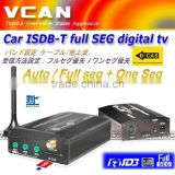 ISDB-T5800 with isdb-t antenna car isdb-t transmisor full seg digital tv receiver B-cas For Japan or Brazil