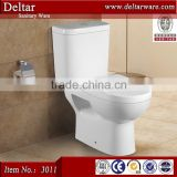 Tunisia chinese ceramic marine toilet, wc toilet bowl P-trap separate water tanks, ceramic toilet bowl