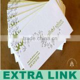 Cheap Business Cards Printing,Letterpress Business Cards,Embossed Business Cards (EL Printing Factory Supply)