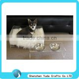 designer rectangular clear acrylic pet bed set want to buy the solid and fresh design dog bed transparent dog bed