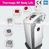 Newest RF thermagic six probes for wrinkle removal and skin tighting lifting machine