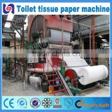 Full automatic small capacity sanitary napkin/toilet tissue paper making machine with best price