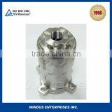 Stainless steel lost wax casting safety valve body for train