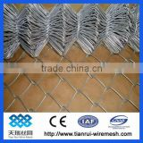 pvc coated chain link fence/galvanized chain link fence/electro galvanized chain link fece