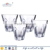 High quality bohemia lead crystal royal whisky clear glass drinking cups for bar
