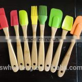 2016 bamboo colored silicon scoop