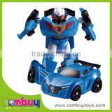 Top selling deformation set diecast model toy mini intelligent robot