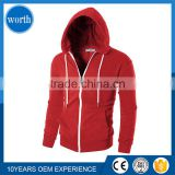 2017 Custom Thermal Hoodies Mens french terry oversized dropped shoulder pullover Warm hoodie with ribbed trims