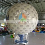 Guangzhou factory price inflatable golf balloon commical white golf balloon inflatable for sale