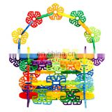 INquiry about FOLZOO Geometry Assorted Rainbow Colors Children's Building Blocks Snowflake Interlocking Plastic Disc Set