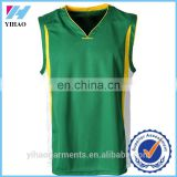 Yihao Custom Top Quality Gym Basketball Jersey Including Shirts and Shorts Sportswear Clothing Wholesale 2015