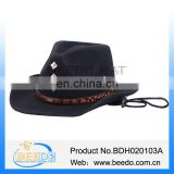 2016 new products wholesale mexican wool felt cowboy hats