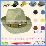 LSP32 Wholesale Price Big Shining Diamonds 100% wholesale Paper Straw Hat cheap