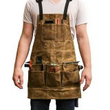 good selling waxed canvas tool apron from China factory