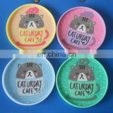 cool cat rubber cup coaster cafe drink mat