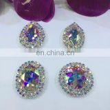 Factory Main Products! pretty shiny single crystal bead for wedding dress performence garment accessories WS1201