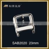 Song A metal Top quality fashion webbing strap hardware /custom belt buckle -SAB2020