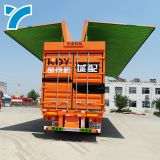 wing van semi trailer box cargo wing open box truck trailer