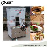Clay oven rolls baking machine/Baked wheat cake furnace/gas sesame seed cake machine