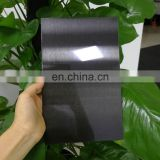 201 304 mirror finished black stainless steel sheet for wall panel