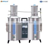 Auto Electric Double Water Re-distiller, Boiler Steam, Stainless steel
