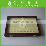 Fancy design PU leather packaging box / leather jewelry box wholesale