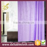 Good sale peva material and Roller Type home use purple shower curtain