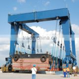 Boat Lifting Gantry Crane Electrical Boat Lifting