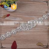 Wholesale Hot Fix/ Sew On/ Glue On pearl crystal bridal applique