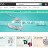 eCommerce website design for cosmetics,B2B & Jewellery Industry