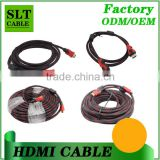 Shenlantuo Factory Wholesales High Speed HDMI Cable 1m to 100m or customization 1.4 3D 2K*4K