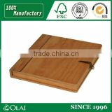wooden durable classical DVD case / CD packaging
