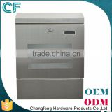 Cast Stainless Steel Wall Mounted 304 Card Post Box
