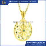 CPC016 2015 NEWEST Stainless steel jewelry gold buddha pendant diamond jewelry from China