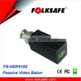 long distance wireless transmission,Folksafe screw terminal connection video balun, FS-4102SR
