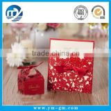 2015 New design red paper Chinese laser cut wedding invitation card                                                                         Quality Choice