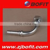 Professional supplier bsp rubber hydraulic hose fitting high pressure stainless steel pipe fittings factory direct price
