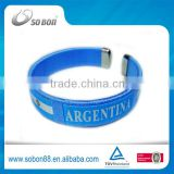 2014 brazil world cup promotion gift nylon thread bracelets