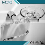 Best selling Beautiful Fancy stainless steel decorative toilet paper holder with soap dish