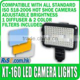 Pro XT-160 5000-5800K LED Video Light Camcorder Lighting Lamp CN-160