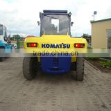 used komatsu 16t 15t 10t hydraulic diesel forklift truck original from Japan best price offered in SHANGHAI ,CHINA