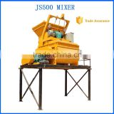 China Alibaba JS500 electric cement mixer parts/Top Quality industrial concrete mixer machine