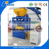 WANTE BRAND online shopping product QT4-24 semi-automatic cement block making machine for construction industry in pakistan                                                                                                         Supplier's Choice