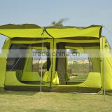 10-12 person outdoor camping tent with 4 doors