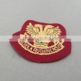 wholesale custom private school uniform logo name embroidery patch woven badge