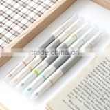 Top Quality Fine Tip Pens in Colored Ink Office Supplies Plastic Highlighter Pen with Customized Logo